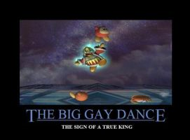 SSBB Inspirational BigGayDance by Silver-Mongoose