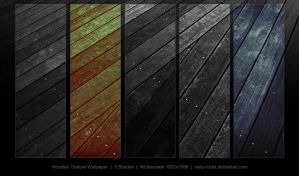 Dark Wood Wallpaper Pack by Rana-Rocks