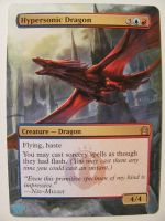 Mtg Altered: Hypersonic Dragon by OhMaiAlters