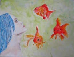 Goldfish by GaBrIeLlA123