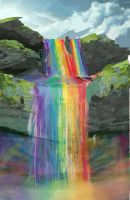 Rainbow Falls by OwlVortex