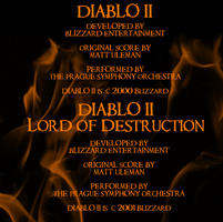 Diablo II SE OST 2 - Booklet 4 by digitaleva