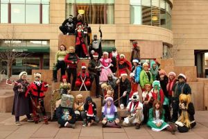 Cosplay group by onlyRa