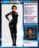 Cpt. Adeline Sprint by WesternSpice