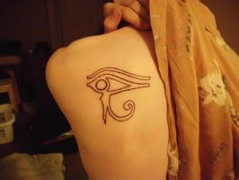 Eye of Horus by The-Gray-Areas