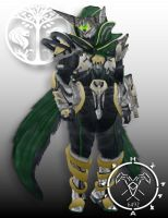 Iron Lord Zangen Destiny Hunter armor by Hellmaster6492