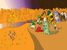 Pokemon Mystery Dungeon ending by Dave-Mit-Hut
