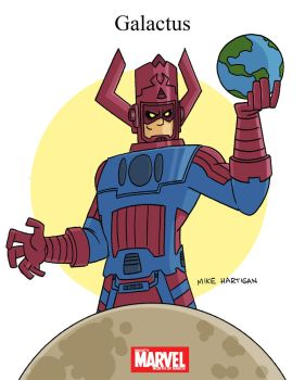 Mighty Marvel Month of March - Galactus by tyrannus
