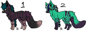 Fox Adopts 3 CLOSED by Howler-Adoptables