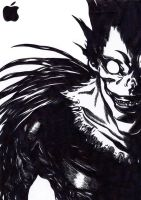 Ryuk - Applefan a lifetime by Schneefuechsin