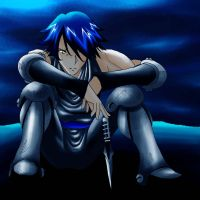 Lonely Blue Gido by Gido