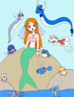 Misty the mermaid by missmybcmiyuki