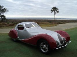 Talbot-Lago at Kiawah Island Concours by prestonthecarartist