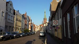 Old street Luebeck by Arminius1871