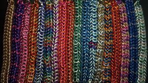 MLP Themed Chainmail Bracelets Complete Set - 2 by TheGiantsnoll