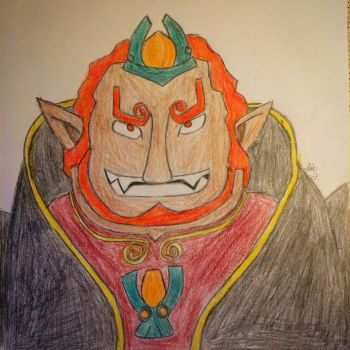 Wind Waker Ganondorf  by LOZRocksmysocks77