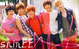 SHinee - summer time by Sweetkrystyna