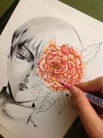 The Peony WIP by Giname