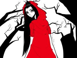 Red Riding Hood by poliip