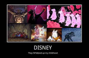 Disney poster by samvadar