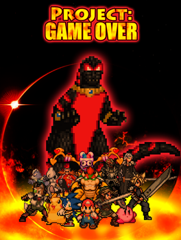 Project Game Over - Poster by HeiseiGoji91
