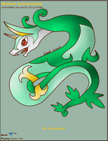 Serperior Journal Skin by AbyssinChaos