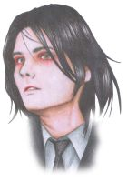 Gerard Way by aMputATioNkEy