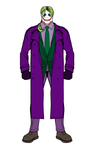 Jake Cosplaying as The Joker by J-Wolfe15