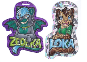 Re-did our badges by therougecat