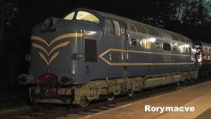 English Electric DELTIC DP1 at Preston by The-Transport-Guild