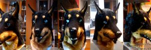 Doberman Greed mask by SnowVolkolak