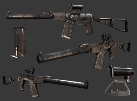 AS Val silenced assault rifle by Leonid-k