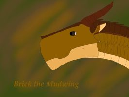Brick the Mudwing! by ArthkorStarGlow13