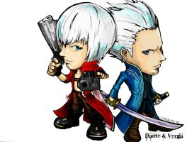 Dante n  Vergil- Color Outcome by TCHS530