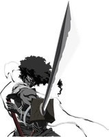 Afro Samurai Vector by Joan-487