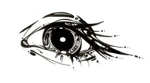 Tattoo eye by Goerri