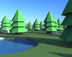 3D Scenery by TheDrake92