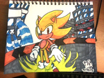 Super Sonic Sharpies by RGXSuperSonic