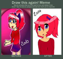 Before and After meme by ConkaNat