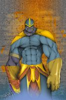 Thanos pic by demonplague