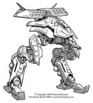 Freelance Mecha Design 01 by Mecha-Zone