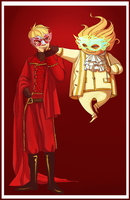 ROTG: Masquerade Commission by Kisiki