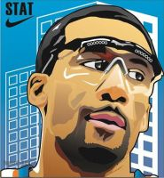 Stoudemire by billgoldberg