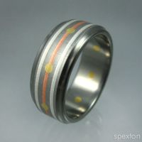 """Wesberry"" Titanium Ring by Spexton"