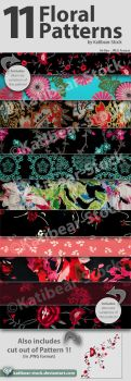 Katibear-Stock Floral Pattern Pack V2 by Katibear-Stock