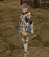 Lineage 2 Silver Ranger by Brownfinger
