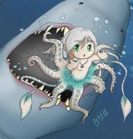 Shark attack by ceressiass