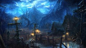 Moonlight village_Tera by moonworker1