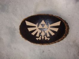 Hyrule now on wood by ironhorn2501