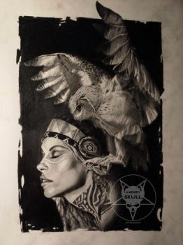 the owl by AndreySkull